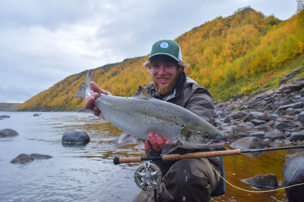 Max Kantor and a great Grilse