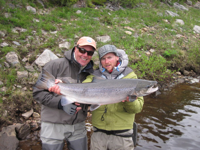 James Peters with Guide Matt Solon